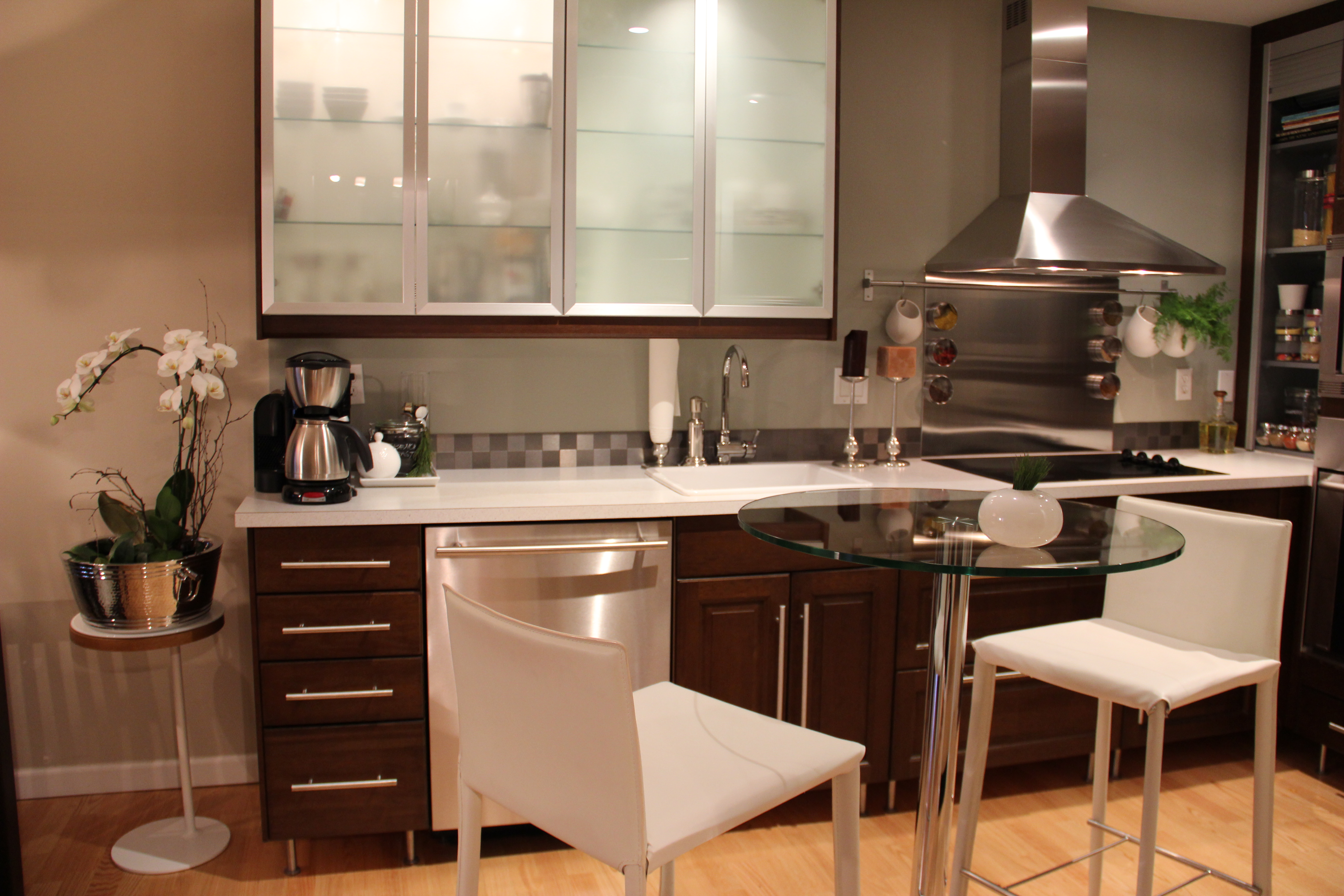 Modern Kitchen Designs Orange Green Modular Design