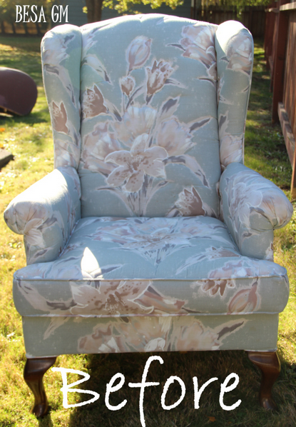 Before - Wingback