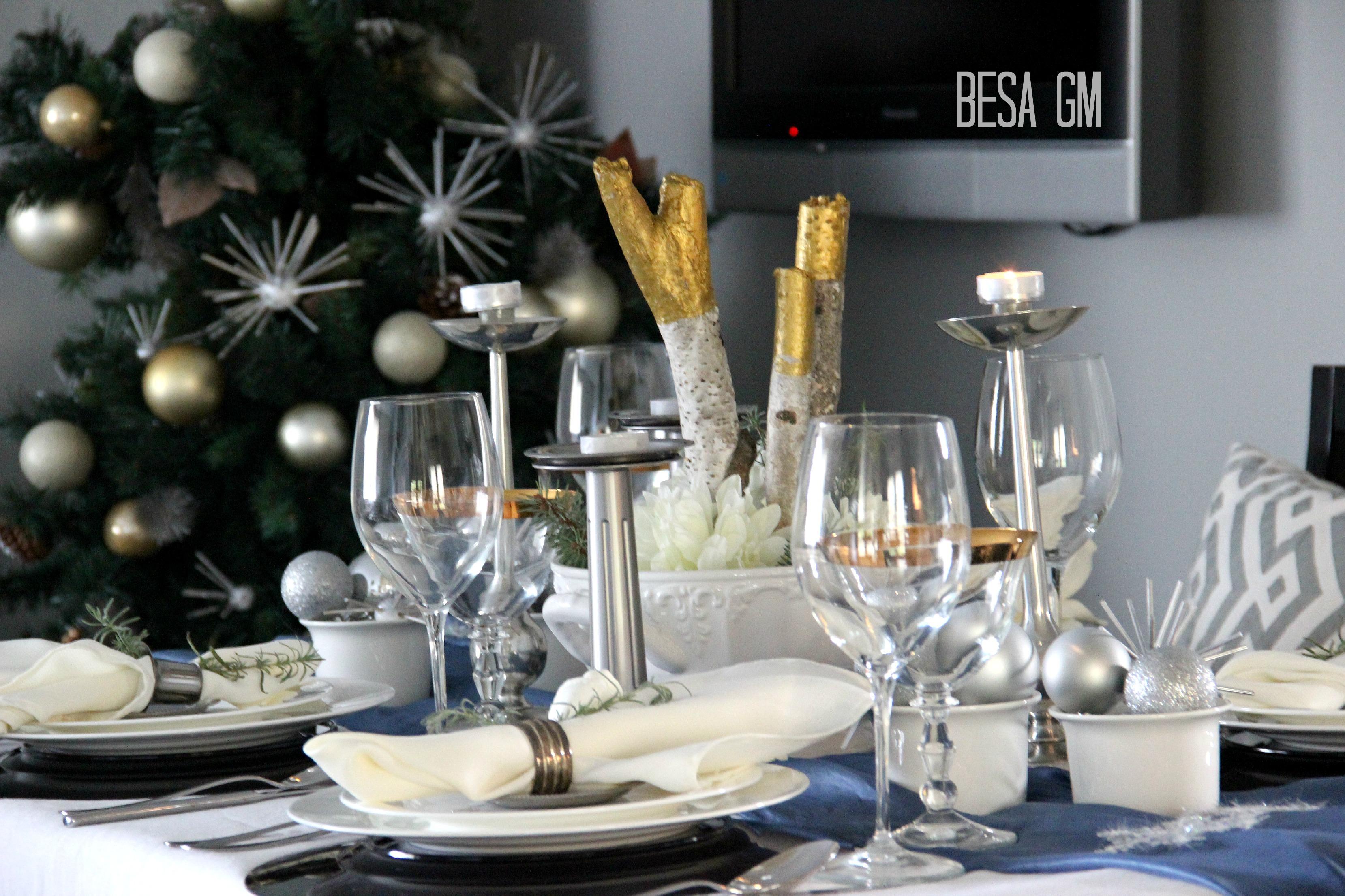 Holiday Table Decor