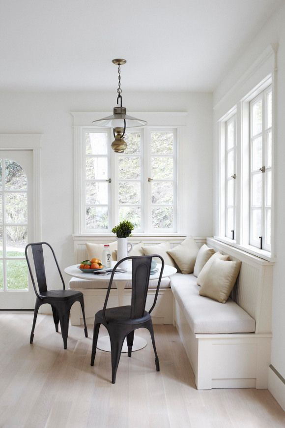A Banquette – Great Solution for Small Spaces