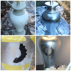 SPRAY paint & stenciling