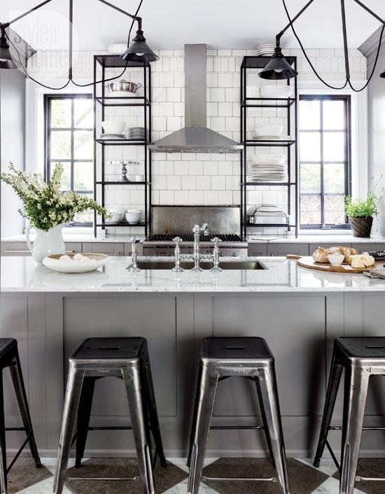 Industrial Bistro Kitchen Besa Gm