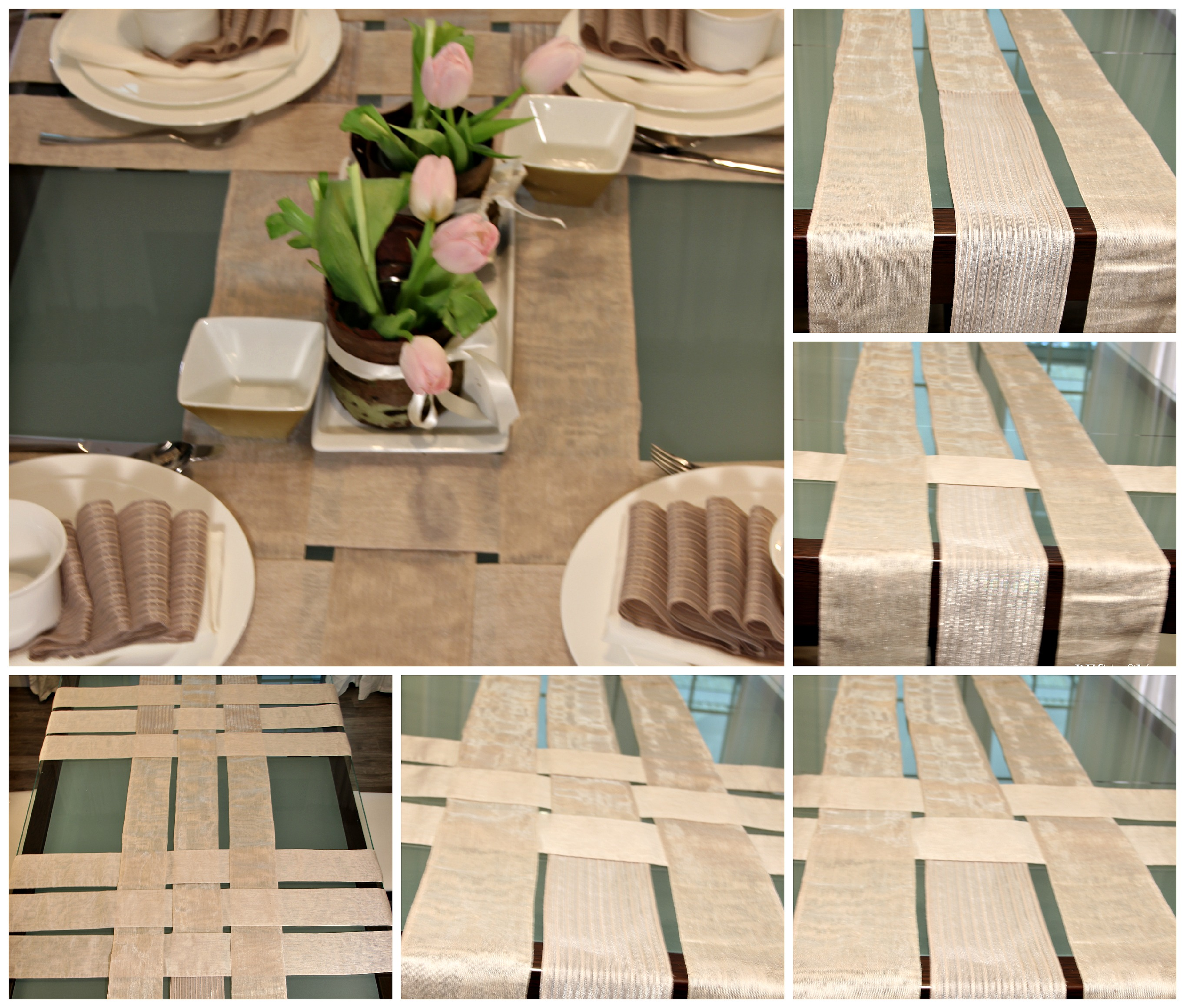 How to sew a table runner - Table Runner