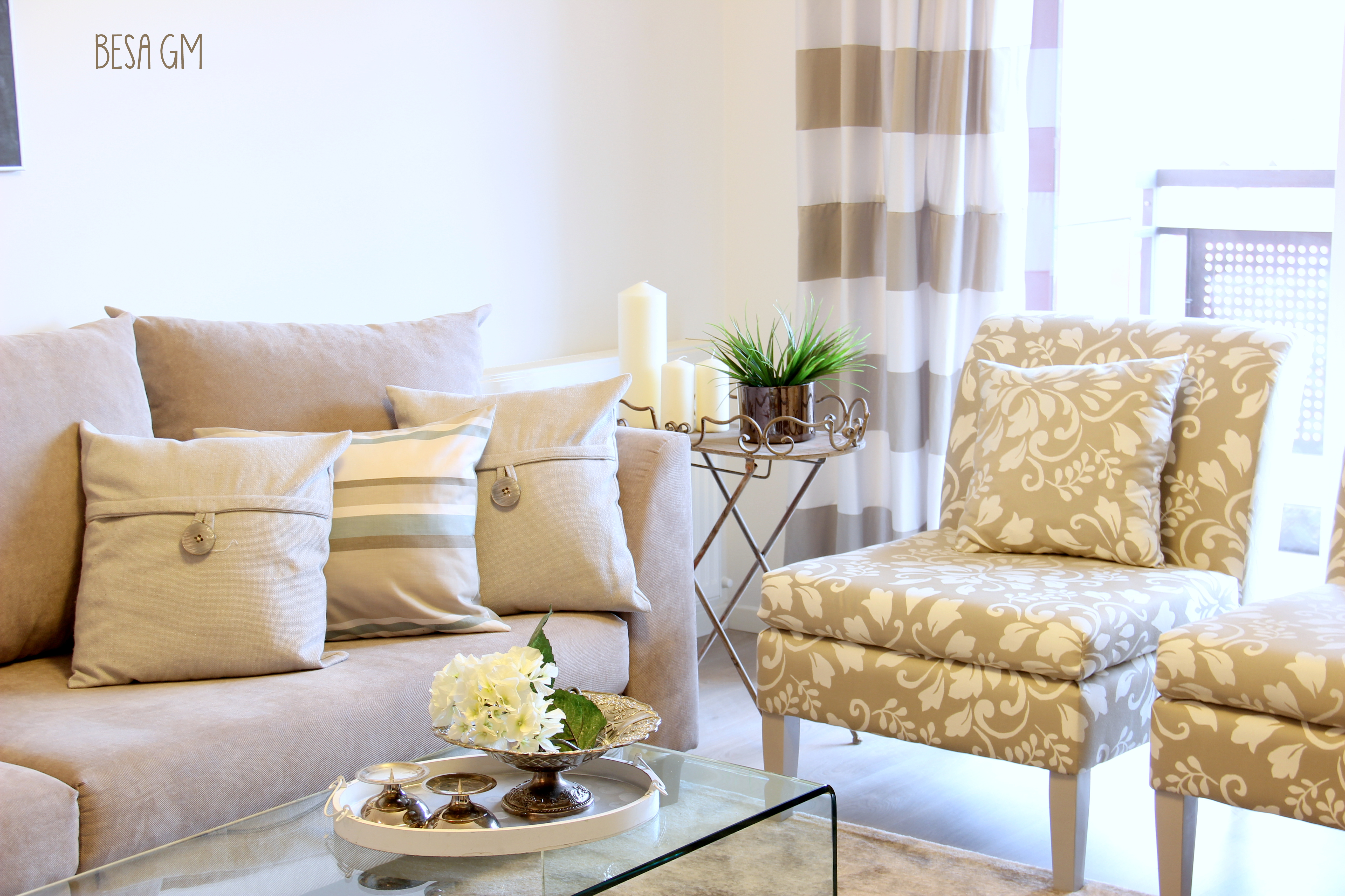 Neutral Living Room Design BESA GM