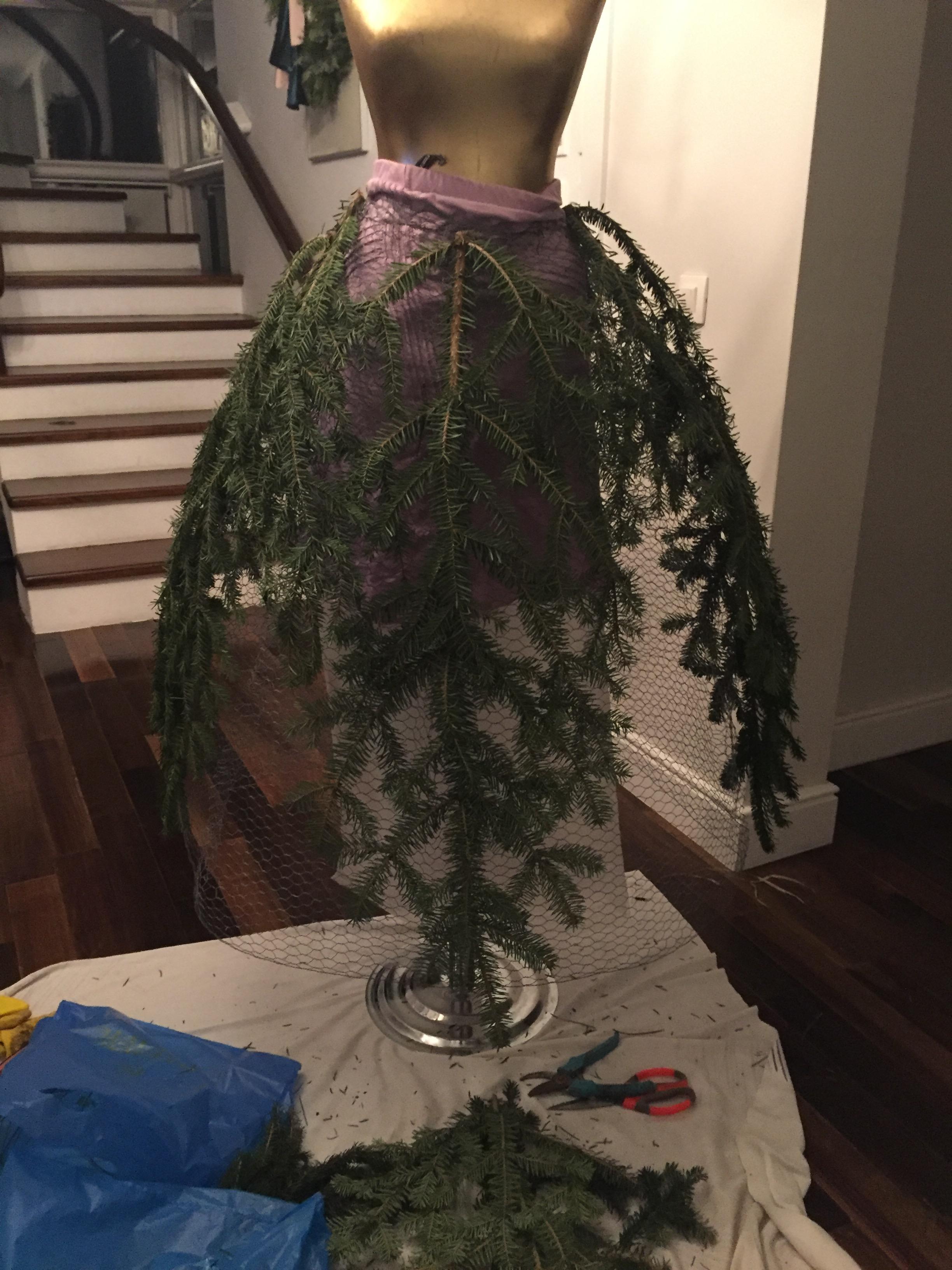 Diy Christmas Tree Bow
