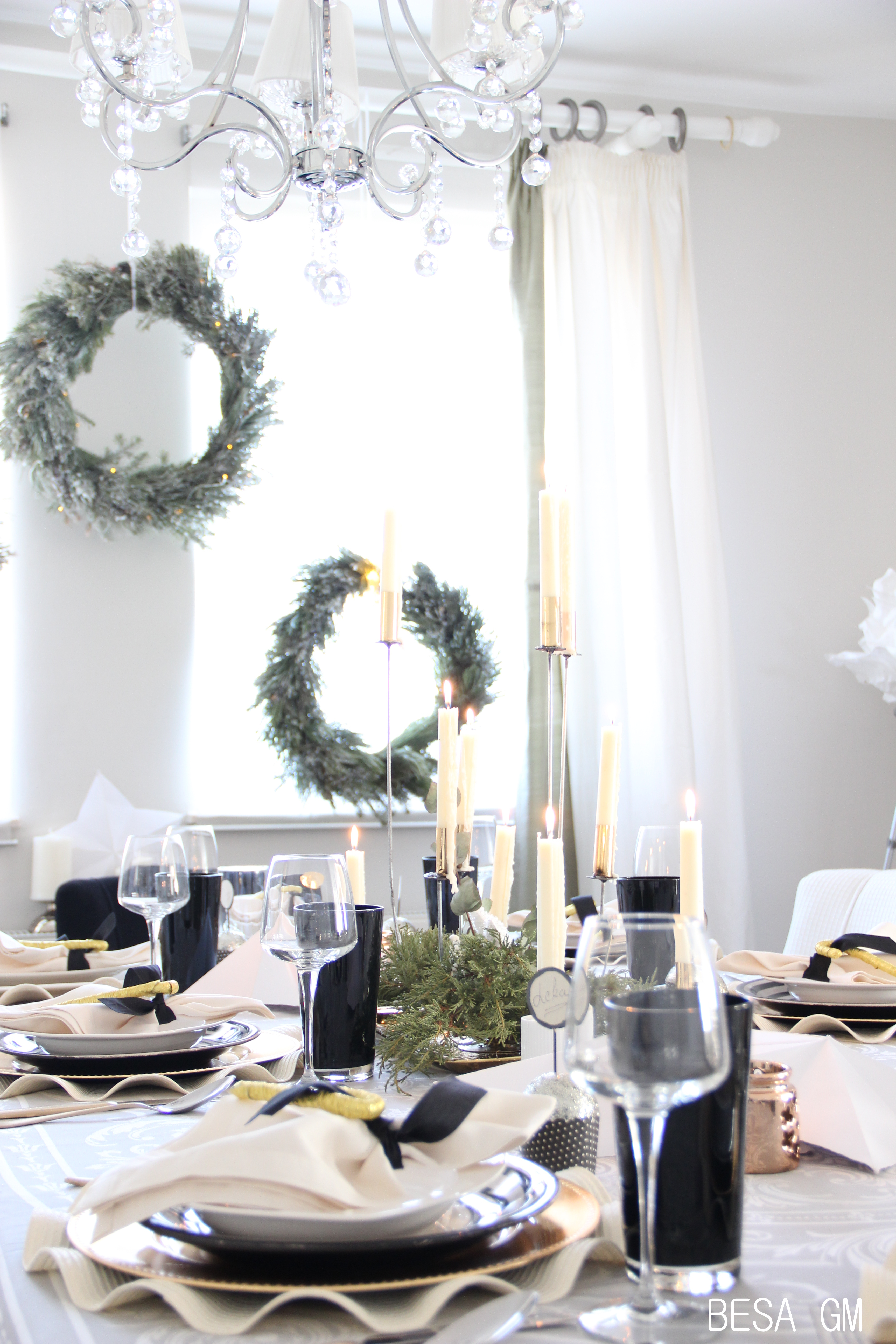 December 2016 besa gm so this is how i created this table setting concept for these holidays and i am over exited with the look i achieved and also hope that my guests are going solutioingenieria Gallery